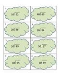 DIVISION TASK CARDS 2-digit dividends with 2-digit divisor