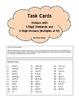 DIVISION TASK CARDS 3-digit dividends with 2-digit divisors (multiples of 10)