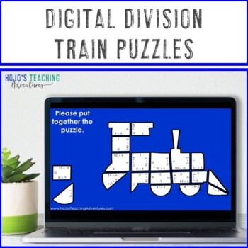 DIVISION Train Activity | Polar Express Math Games, Centers, or Stations