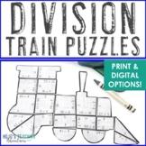 DIVISION Train Activity | Polar Express Math Activity | Po