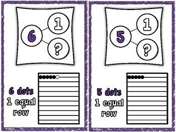 DIVISON  REKENREK AND NUMBER BOND CARDS