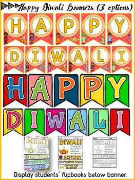 DIWALI CELEBRATION RESEARCH FLIPBOOK: EDITABLE