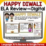 DIWALI ELA DIGITAL REVIEW: GOOGLE DRIVE (FORMS): GOOGLE CLASSROOM