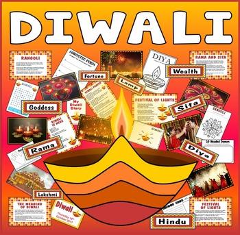 DIWALI RESOURCES KS1 KS2 FESTIVAL OF LIGHTS HINDI SIKH RELIGION R.E