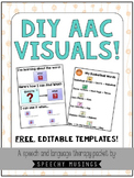 DIY AAC Visuals Freebie