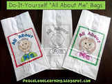 DIY All About Me Bags