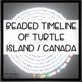 DIY Beaded Timeline of Turtle Island / Canada Instructions