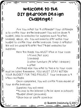 DIY Bedroom Design Challenge