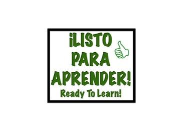 DIY Bilingual Behavior Chart (Spanish/English, Text and Ic