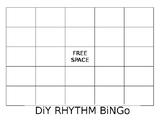 DIY Bingo Board - Blank