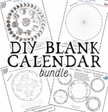 DIY Blank Calendars Bundle!