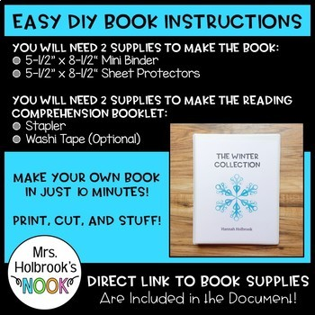 DIY Books: 1 Book - 3 Stories to Add to Your Classroom Library