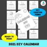 DIY Calendar 2021 Christmas New Year Gift Holiday Activity
