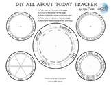 DIY Calendar Board, Student Calendar Work Trackers
