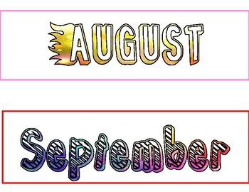 DIY Calendar Freebie