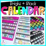 DIY Calendar Kit: Bright & Black