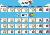 DIY Calendar with Modular Design