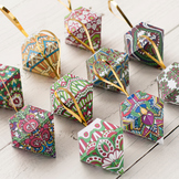 DIY Christmas Ornaments - Set of 10 printable tree ornamen