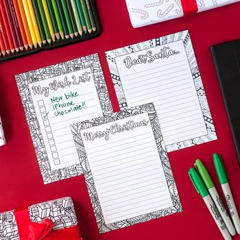 DIY Christmas Stationary -Letter to Santa, Christmas Wishlist & Christmas Letter