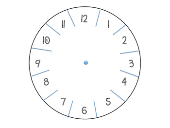 DIY Clock Template