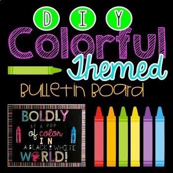 DIY Colorful Bulletin Board Theme