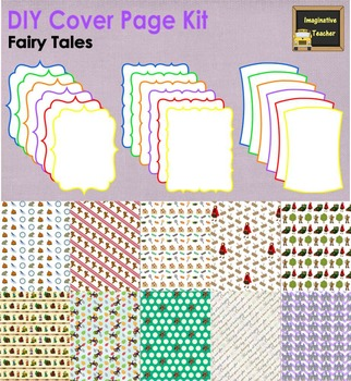 DIY Cover Page Kit - Fairy Tales