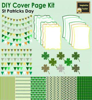 DIY Cover Page Kit - St Patricks Day