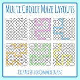 DIY Dabber Mazes with Solutions - Design Your Own Mazes Blank Templates