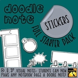 DIY Doodle Note Stickers - Full Starter Pack