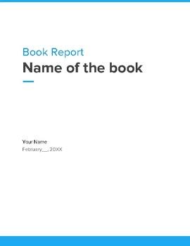 DIY Dystopian Book Report