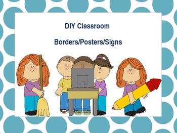 DIY Editable Classroom borders