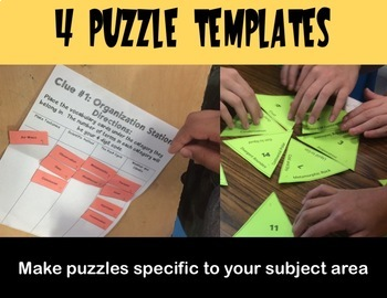 Diy escape room puzzle game for any subject by sarah 39 s for Escape game diy