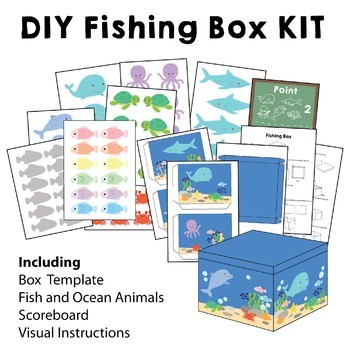 Fishing Box Kit Bundle