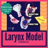 DIY Foam Larynx Model Patterns