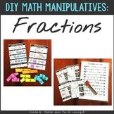 DIY Fraction Kits:  Printable Manipulatives + Anchor Charts