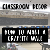 DIY Instructions for Creating a Literary Graffiti Wall in Your Classroom