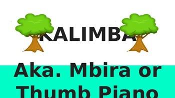 DIY Kalimba (aka. Thumb Piano) Project