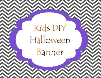 DIY Kids Halloween Banner
