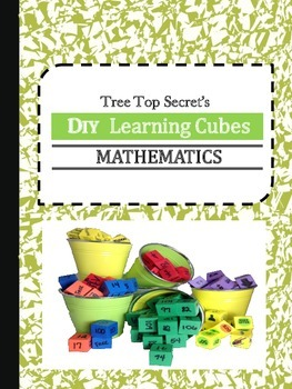 DIY Learning Cubes Math