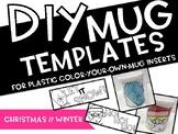 DIY MUGS - CHRISTMAS // WINTER