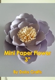 DIY Mini Paper Flower