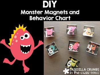 DIY Monster Magnet and Behavior Chart