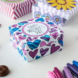 DIY Mother's Day Gift Box Template | Printable PDF templat