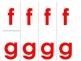 DIY Movable Alphabet