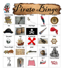DIY PDF Pirate Bingo Game