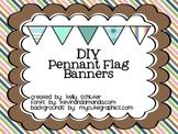 DIY Pennant Flag Banner