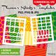 DIY Plan stickers starter kit templates Vol 6 / Erin Condren Life Planner