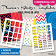 DIY Planner stickers kit / photoshop templates bundle vol. 5