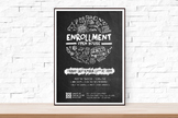 DIY Printable Back to School or Open House Event Flyer Template