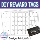 Brag Tags Template